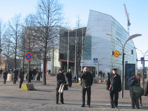 The Kiasma Museum of Modern Art hosted most of the festival's events.