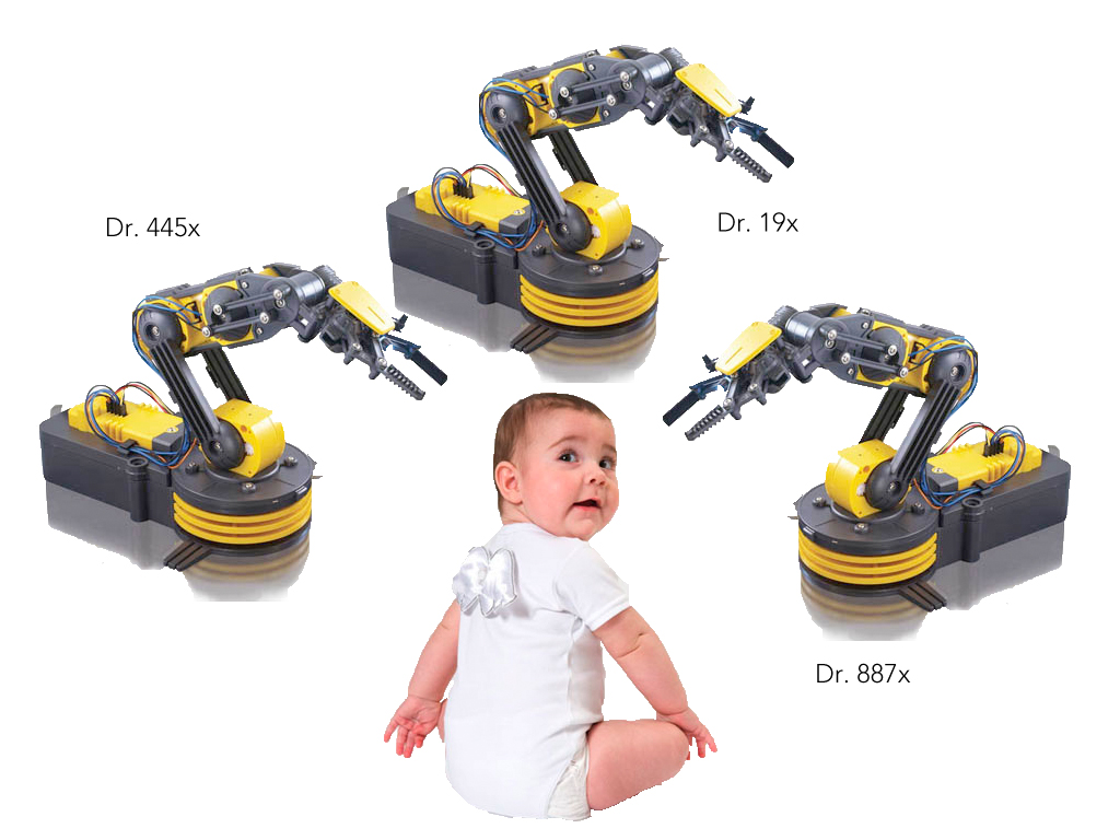 Baby Delivered By Skilled Japanese Robots